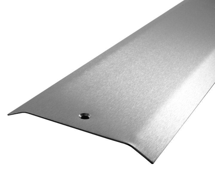 Stainless Steel Carpet Cover Strip 2 Side Bevel