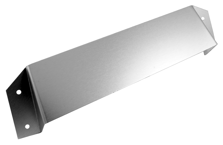 Image of Satin Anodised Letter Box Security Hood