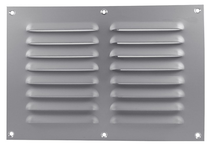 Image of Aluminium Fixed Slotted Vent 241x165mm