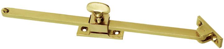 Image of Brass Screw Down Window Stay 254mm