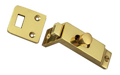Brass Surface Mounted Door Bolt 65mm