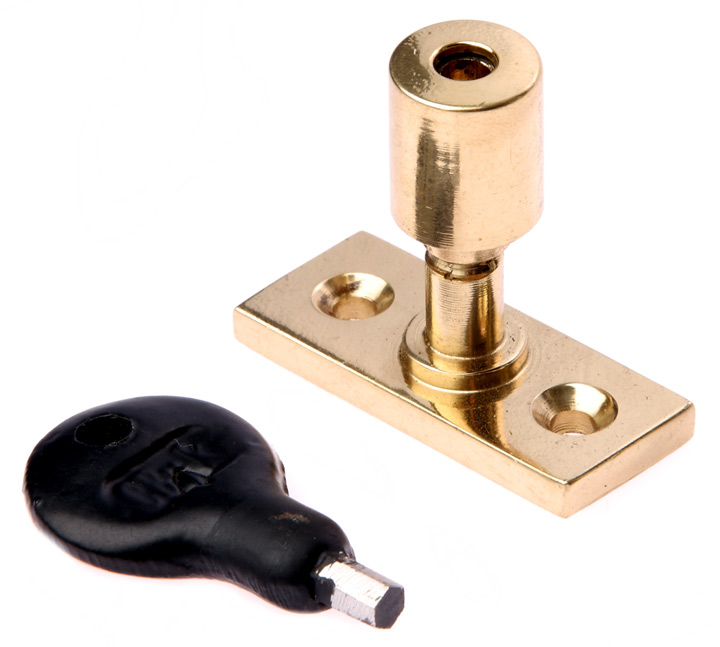 Image of Brass Lockable Window Stay Pin