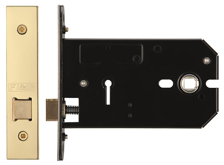 Image of Horizontal Latch Brass