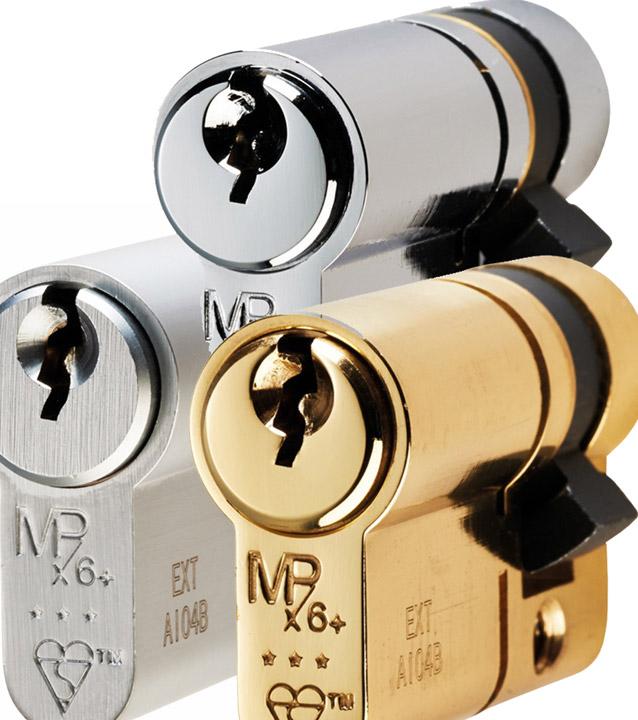 3* Single Euro Profile Cylinder 48mm