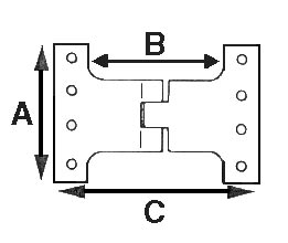 Hinge Dimensions Diagram