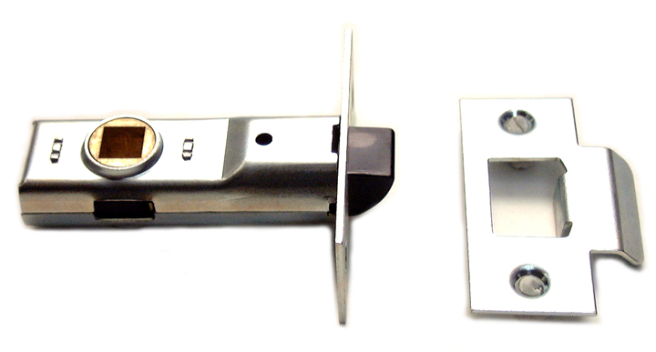 Image of Assa Abloy Tubular Mortice Latch Bright Zinc 2.5in (64.5mm)