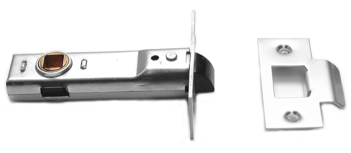 Image of Assa Abloy Tubular Mortice Latch Bright Zinc 3in (80mm)