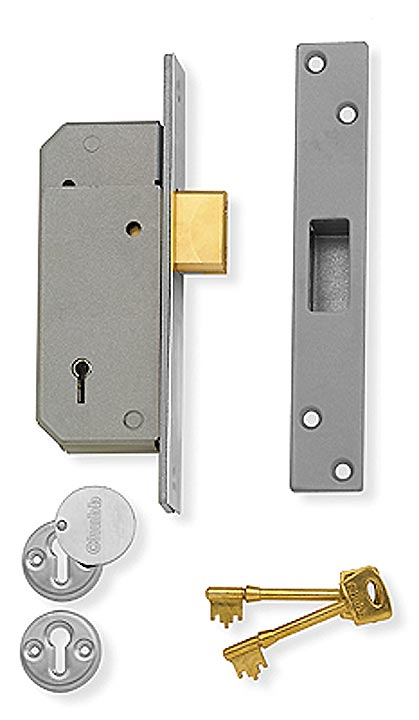 assa abloy deadlock 5 lever bsen12209 satin 3g220. Black Bedroom Furniture Sets. Home Design Ideas