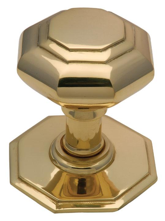 Brass Centre Door Knob