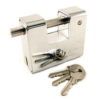 Closed Shackle Padlock