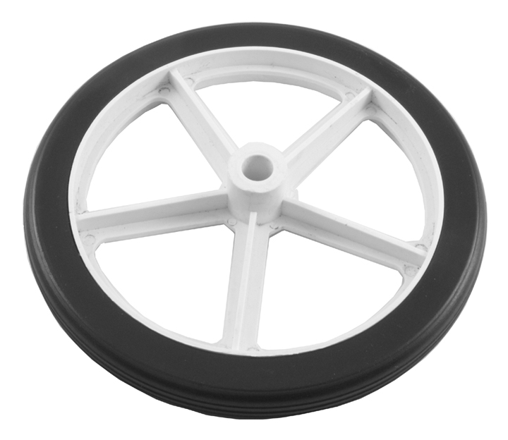 Image of 160mm Diameter Spoked Wheel 10mm Bore