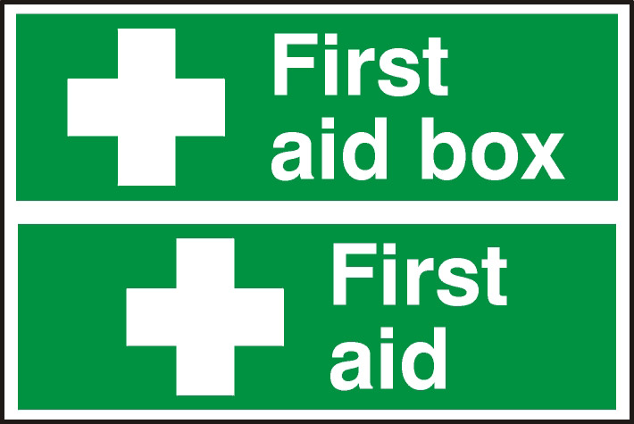 Image of Notice First Aid/First Aid Box