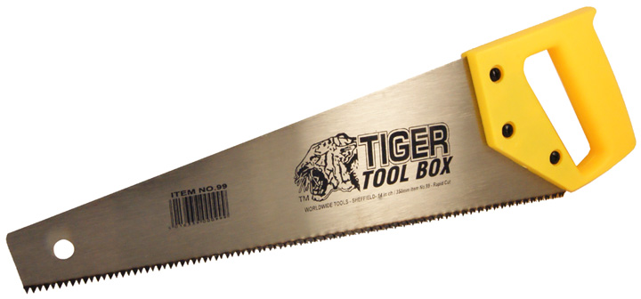 Image of 14in Tiger Tool Box Saw