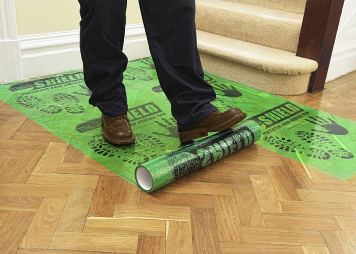 Image of 25M Roll of Hard Floor Protective Film