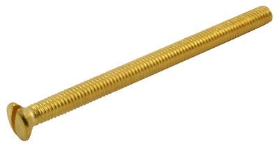 M3.5x50 Brass Raised CSK Screw