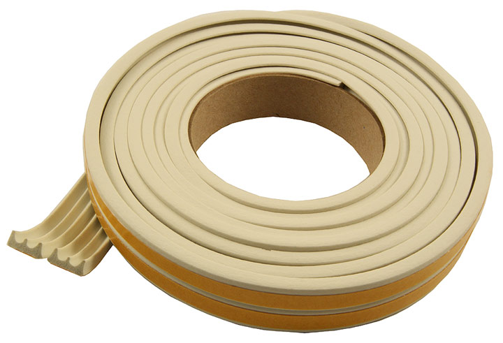 Image of EPDM Rubber E Draught Excluder Strip 5 Metre