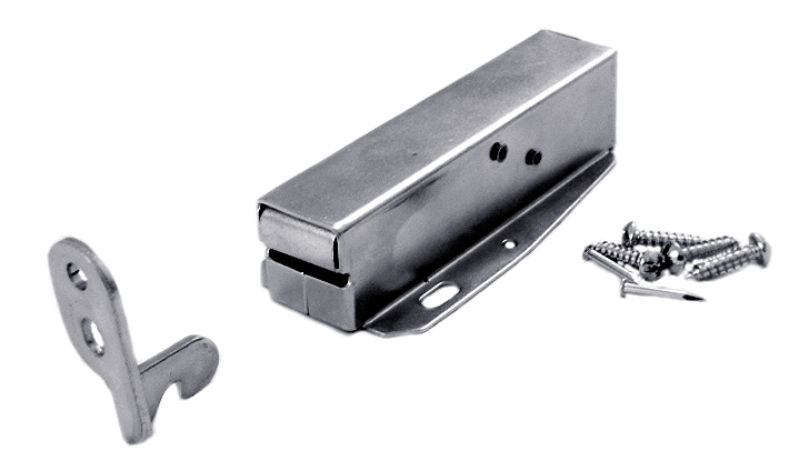 Image of Zinc Plated Steel Loft Door Catch