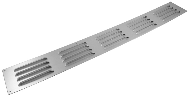 Image of Aluminium Fixed Slotted Vent 24x3in (610x76mm)
