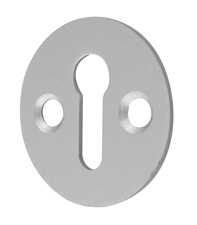 Image of Satin Anodised Keyhole Cover 32mm