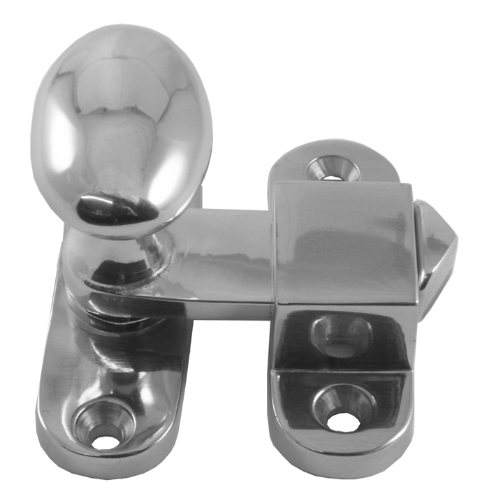 Image of Polished Chrome Turn Bar Catch