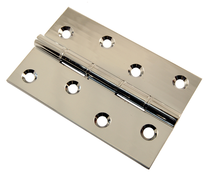 Image of Chrome Hinge Phosphor Bronze Washered 102x67x3mm in Prs