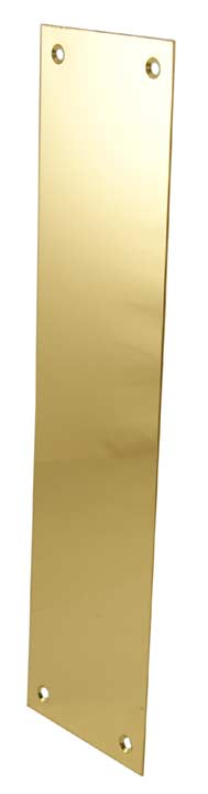 Image of Solid Brass Push Plate 305 x 76mm