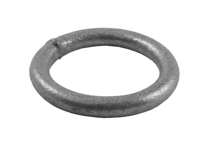 Image of Welded Ring Spelter Galvanised 35x6mm