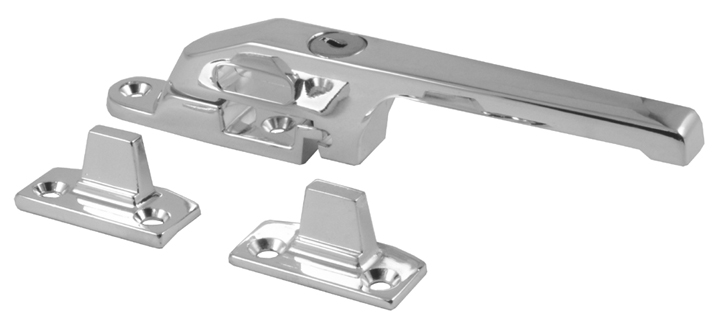Image of Polished Chrome Lockable Window Casement Fastener
