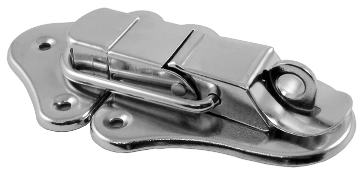 Image of Zinc Plated Case Clip with Padlock Facility