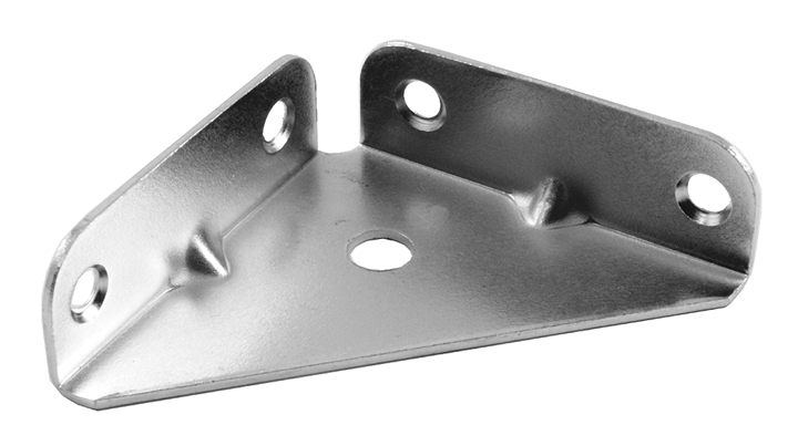 Image of Corner Mounting Brackets 65mm Zinc Plated