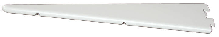 Image of Twin Slot Shelving Brackets White
