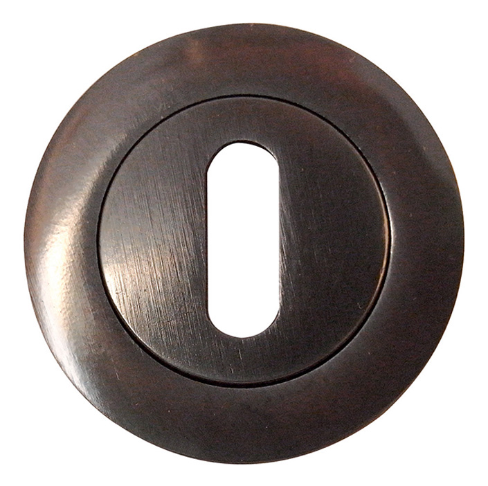 Image of Dark Bronze Key Hole Cover 50mm
