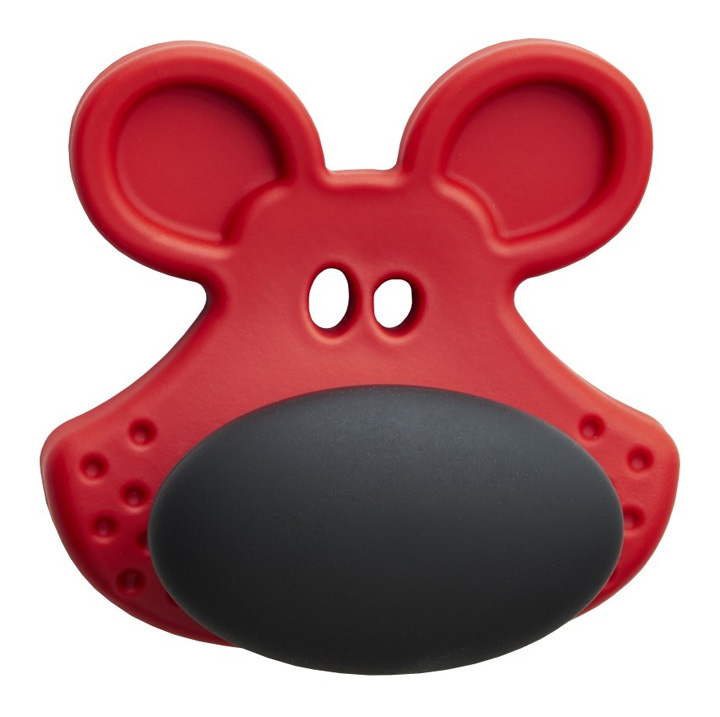 Image of Red and Black Dewie Character Cupboard Knob
