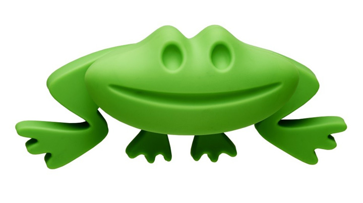 Image of Green Frog Cupboard Handle
