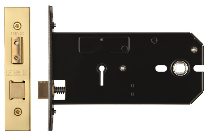 Image of 3 Lever Horizontal Mortice Lock
